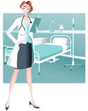 Female Doctor/Healthcare Practitioner Stock Photo