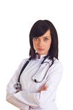 Female doctor isolated Stock Photo