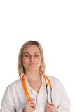 Female Doctor looking at camera Royalty Free Stock Photo