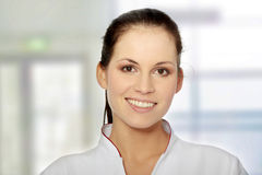 Female doctor or nurse Royalty Free Stock Photos
