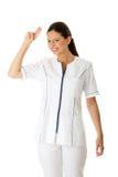 Female doctor or nurse Royalty Free Stock Photos