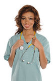 Female Doctor of Nurse Royalty Free Stock Photography