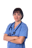 Female doctor and physician Royalty Free Stock Image