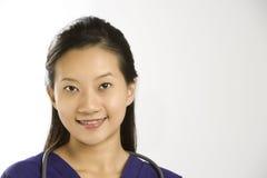 Female doctor portrait. Royalty Free Stock Photo