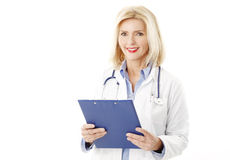 Female doctor portrait Royalty Free Stock Photos