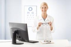 Female doctor portrait Stock Photography