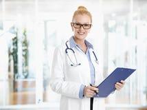 Female doctor portrait Stock Image