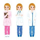 Female Doctor Posing Stock Photos