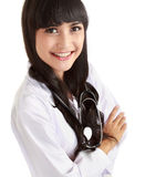 Female doctor standing Royalty Free Stock Images