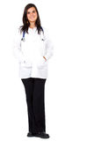 Female doctor standing up Royalty Free Stock Photography