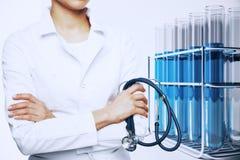 Medical research concept Stock Photos