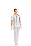 Female doctor in uniform Royalty Free Stock Image