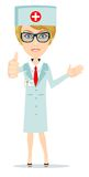 Female Doctor vector Stock Images