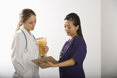 Female doctors. Stock Photography