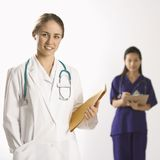 Female doctors. Stock Photos