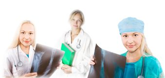 Female doctors Royalty Free Stock Photography