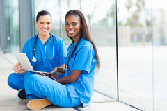 Female doctors Royalty Free Stock Photo