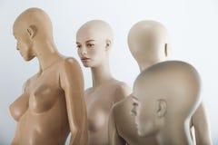 Female dolls group Stock Image