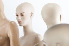 Female dolls portrait Royalty Free Stock Photos