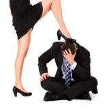 Female dominance royalty free stock images