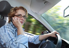 Female Driver stock photography