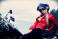 Female driver Royalty Free Stock Photography