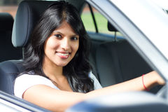 Female driver Royalty Free Stock Photo