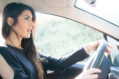 Female driver Stock Image