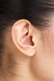 Female ear Stock Photos
