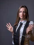 Female Editorial On Masculinity Stock Images