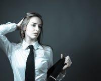 Female Editorial On Masculinity Stock Photos