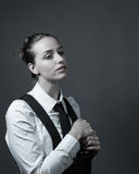 Female Editorial On Masculinity Royalty Free Stock Images