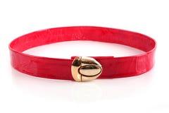 Female elegant leather belt Royalty Free Stock Photo