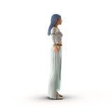 Female Elf on White 3D Illustration Stock Photos