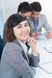 Female employee Royalty Free Stock Photo