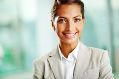 Female employer Royalty Free Stock Image