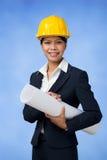 Female engineer Royalty Free Stock Photos