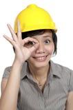 Female Engineer Stock Photography