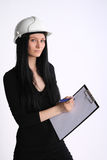 Female engineer Royalty Free Stock Image