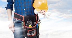 Female engineer Royalty Free Stock Photo