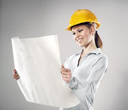 Female engineer Royalty Free Stock Photos