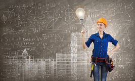 Female engineer Royalty Free Stock Photo