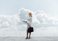 Female engineer Royalty Free Stock Images