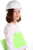 Female Engineering Royalty Free Stock Image