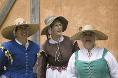 Female English colonists Royalty Free Stock Image