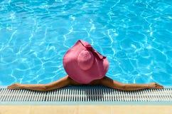 Female enjoys summer Stock Images