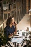 Female entrepreneur Stock Images