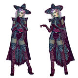 Female evil witch Royalty Free Stock Photos