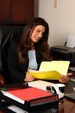 Female Executive Stock Image