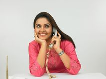 female executive of indian origin Stock Photography